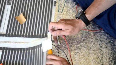Теплый пол своими руками электрический под линолеум