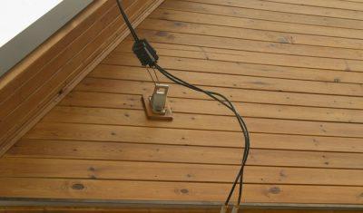 Электропровод для уличной проводки