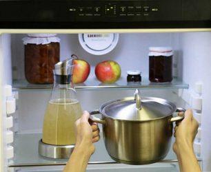 Почему нельзя класть горячее в холодильник?