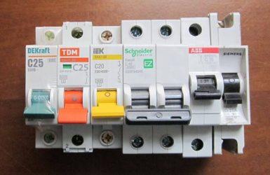 Сравнение автоматических выключателей разных производителей
