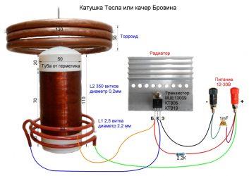 Генератор тесла своими руками на 220 вольт