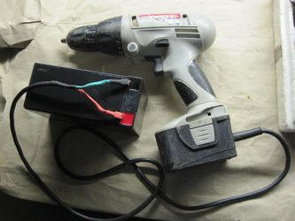 Как сделать из аккумуляторного шуруповерта электрический?