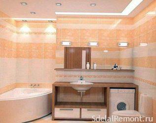 Как правильно сделать освещение в ванной комнате?