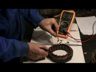Как проверить статор генератора на межвитковое замыкание?