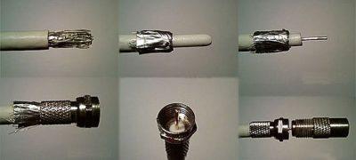 Как правильно подключить антенный кабель к штекеру?