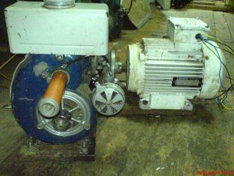 Самодельный генератор из асинхронного двигателя