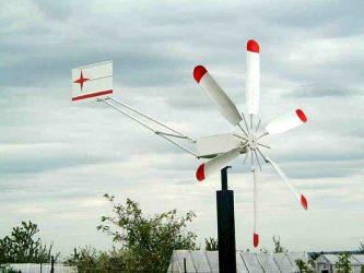 Как самому сделать ветряк для дачи?