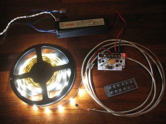 Как сделать светодиодное освещение своими руками?