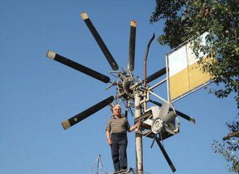 Ветряные генераторы для дома своими руками