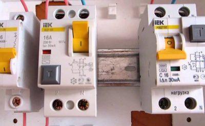 Что лучше УЗО или дифференциальный автомат?