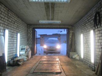 Как правильно сделать освещение в гараже?