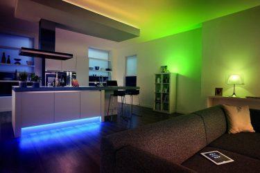 Освещение квартиры светодиодами