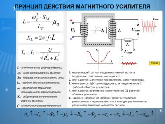 Магнитные усилители принцип действия