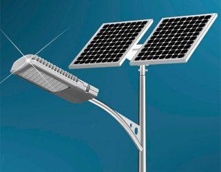 Автономное уличное освещение на солнечных батареях