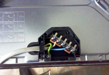 Варочная панель электрическая подключение к сети
