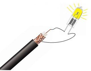 Как проверить антенный кабель мультиметром?