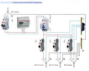 Как правильно подключить УЗО и автомат?