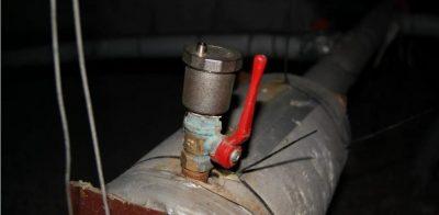 Установка автоматического воздухоотводчика в системе отопления
