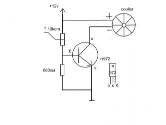 Автоматическая регулировка скорости вращения кулера