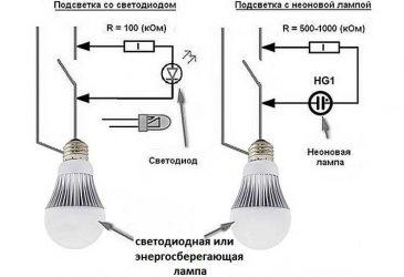 Почему мерцают энергосберегающие лампы в выключенном состоянии?