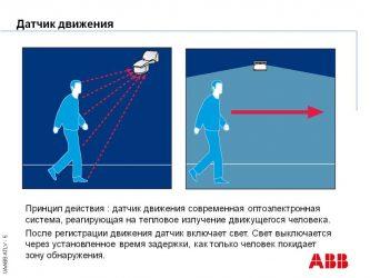 Как работает датчик движения на освещение?
