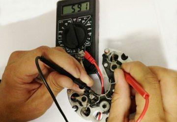 Как проверить диодный мост генератора мультиметром?