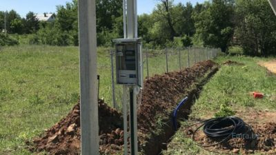 Как подвести электричество к участку без дома?
