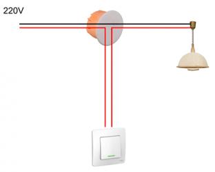 Как правильно установить выключатель света?