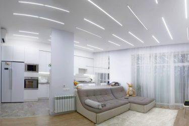 Диодное освещение в квартире