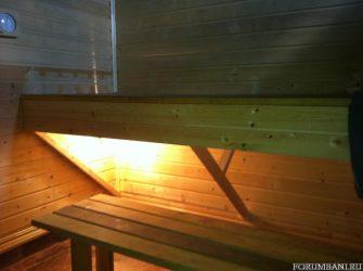 Освещение в бане 12 вольт