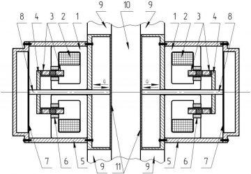 Линейный генератор на постоянных магнитах своими руками