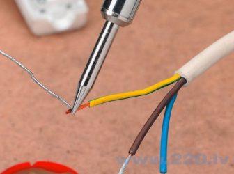 Как правильно спаивать провода?