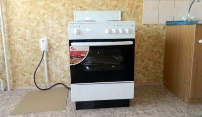 Установка электрической плиты своими руками