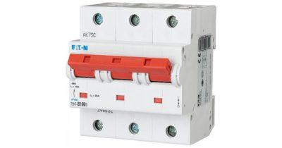 Автоматический выключатель с измененным номиналом