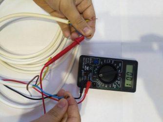 Как прозвонить провода без мультиметра?