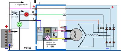 Подключение двух генераторов на автомобиле