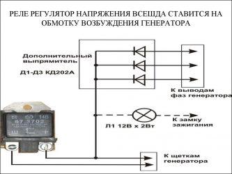 Как работает реле регулятор напряжения генератора?